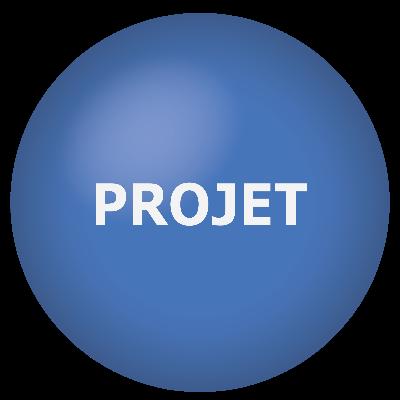 Bouton Projet